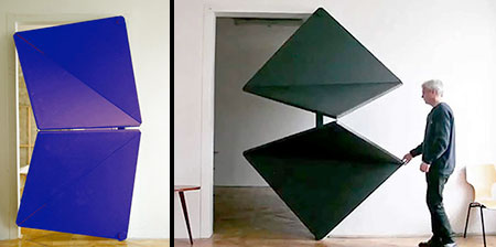 Innovative Origami Door