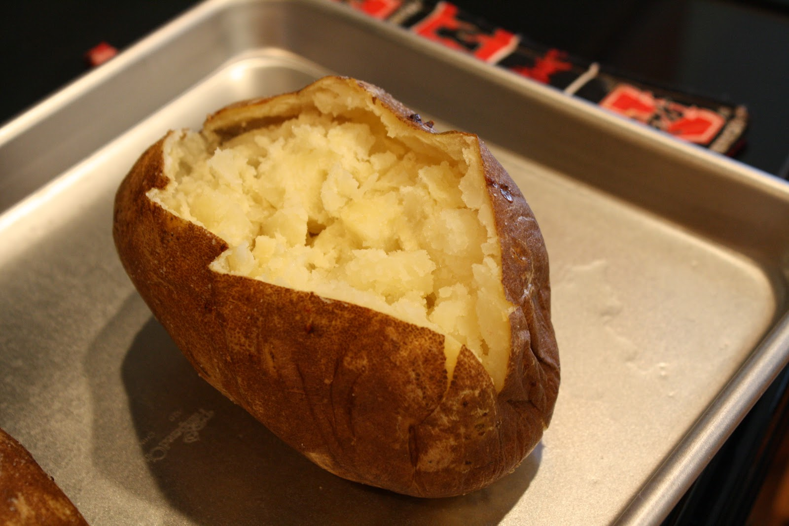 how to cook baked potato on bbq