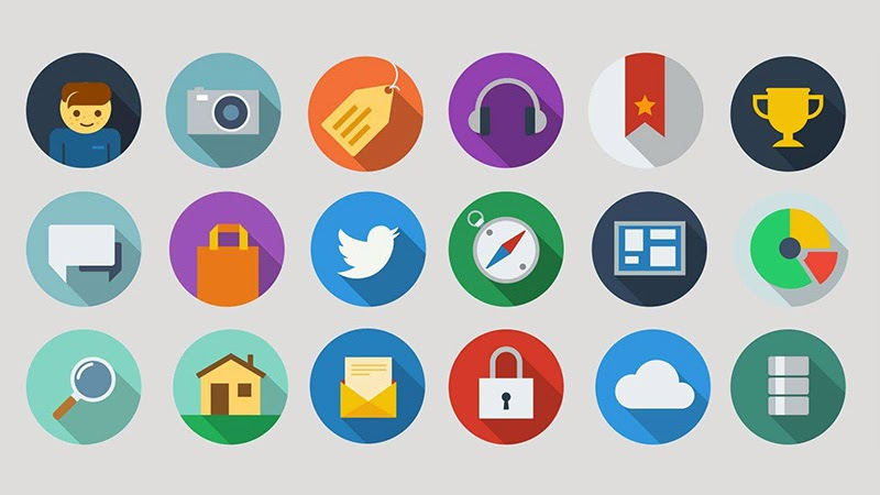 30 Beautiful and Fresh Icon Sets for Free