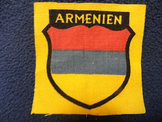 WWII German Armenian Volunteers Shield