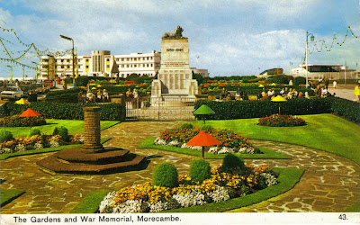 The Gardens and War memorial, Morecambe