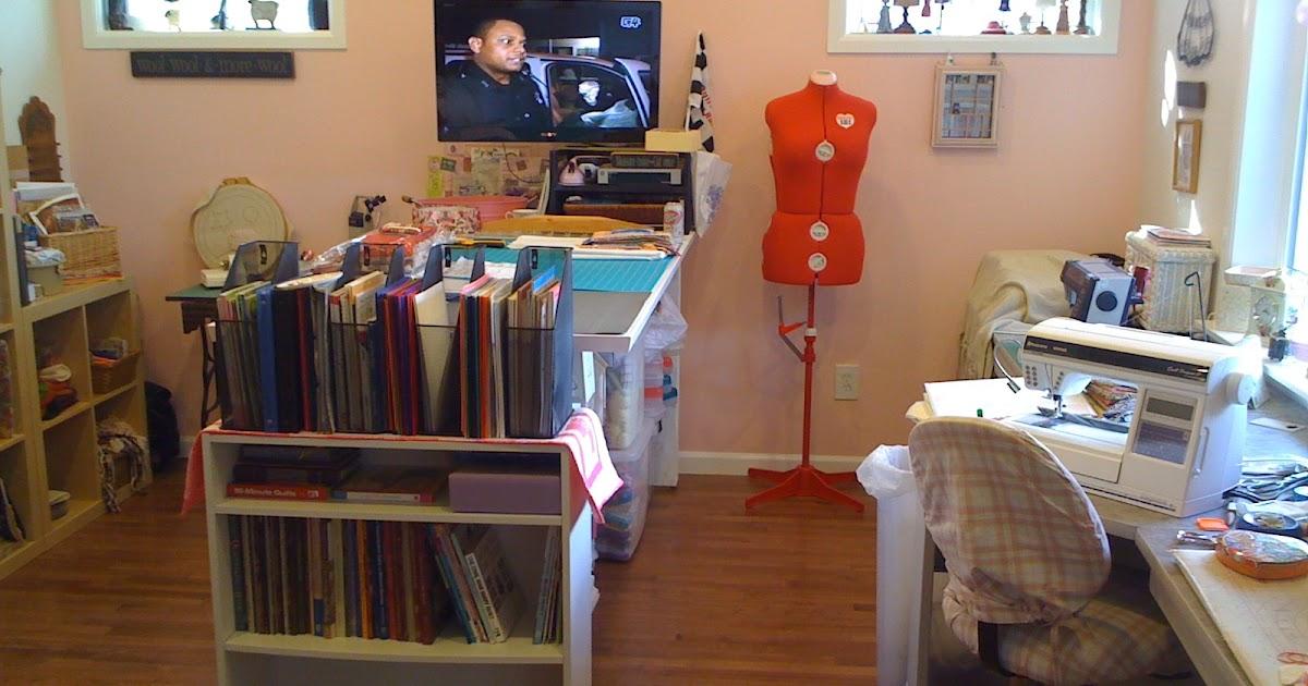 Wren's Nest: My Sewing room