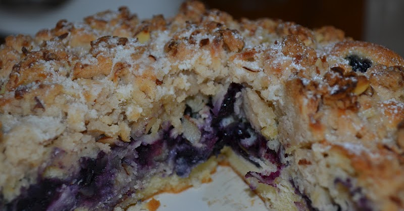 Live... Bake... Love...: Blueberry Coconut Almond Crumb ...