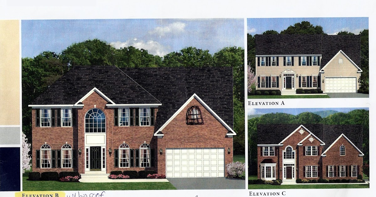 Stone Mountain Elevation Change : Building a ryan home avalon our options