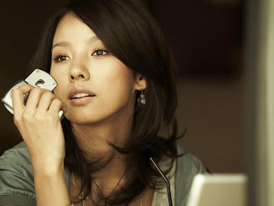South Korean Singer Hyori Lee Wallpaper