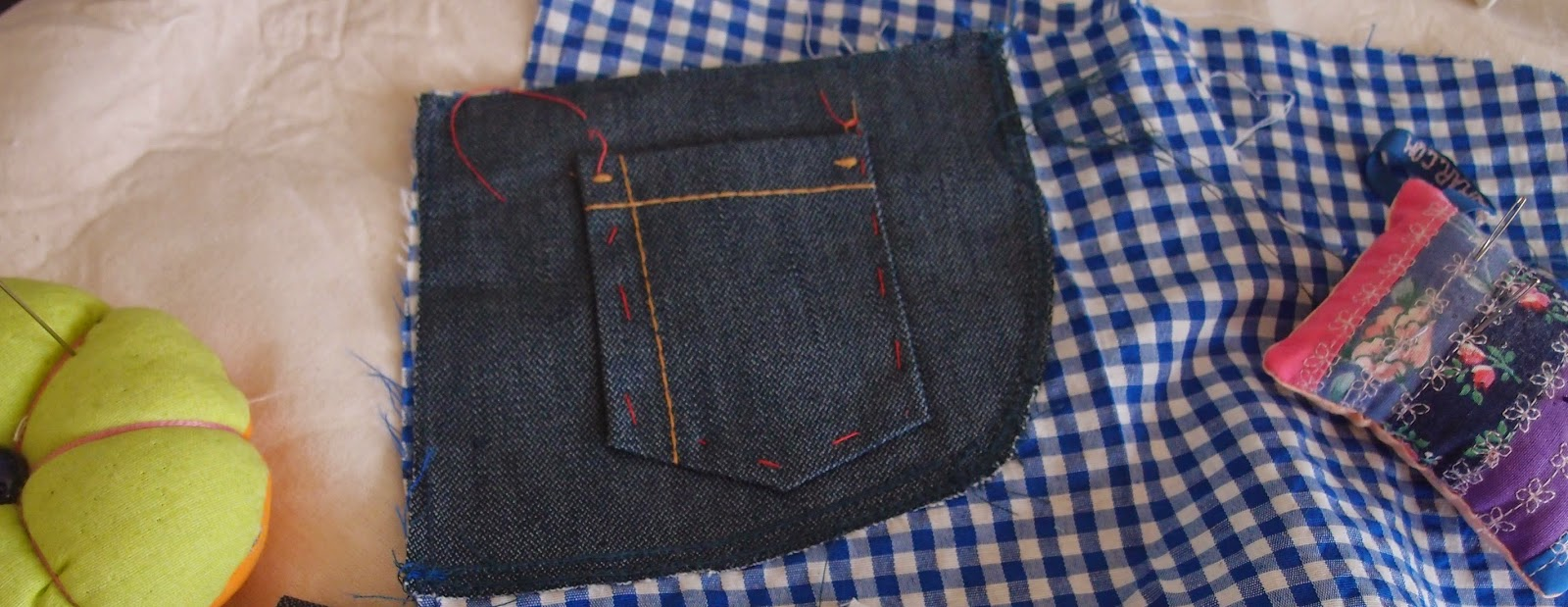 front pockets in progress