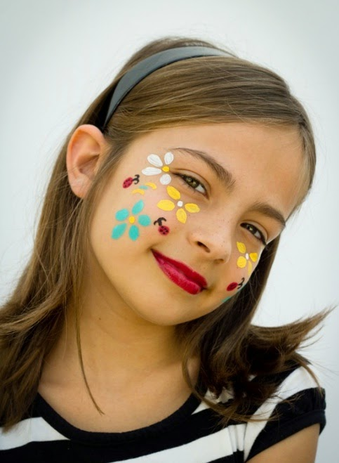 16 Cute And Easy Halloween Face Makeup Ideas For Kids - B U0026 G Fashion