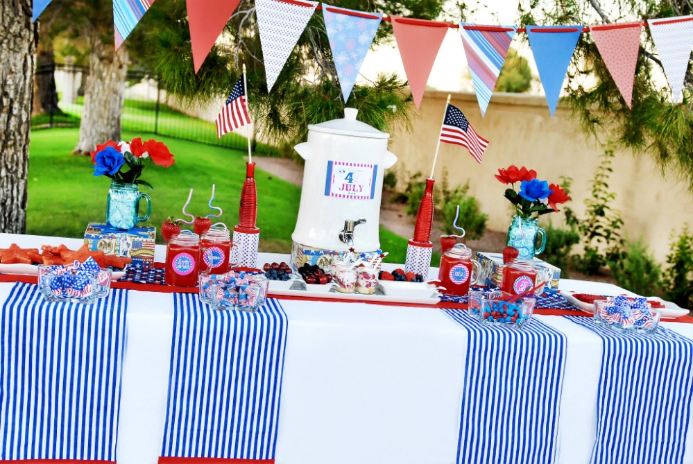 Kara 39 s party ideas 4th of july party idea roundup party for 4th of july party decoration