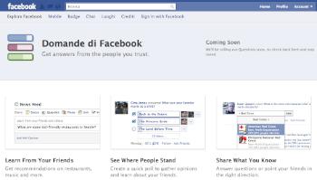 domande su facebook
