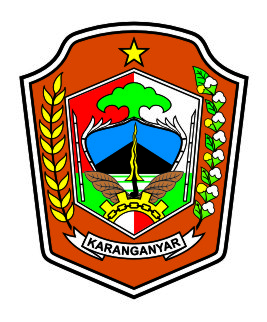 logovectorcdr logo kabupaten karanganyar