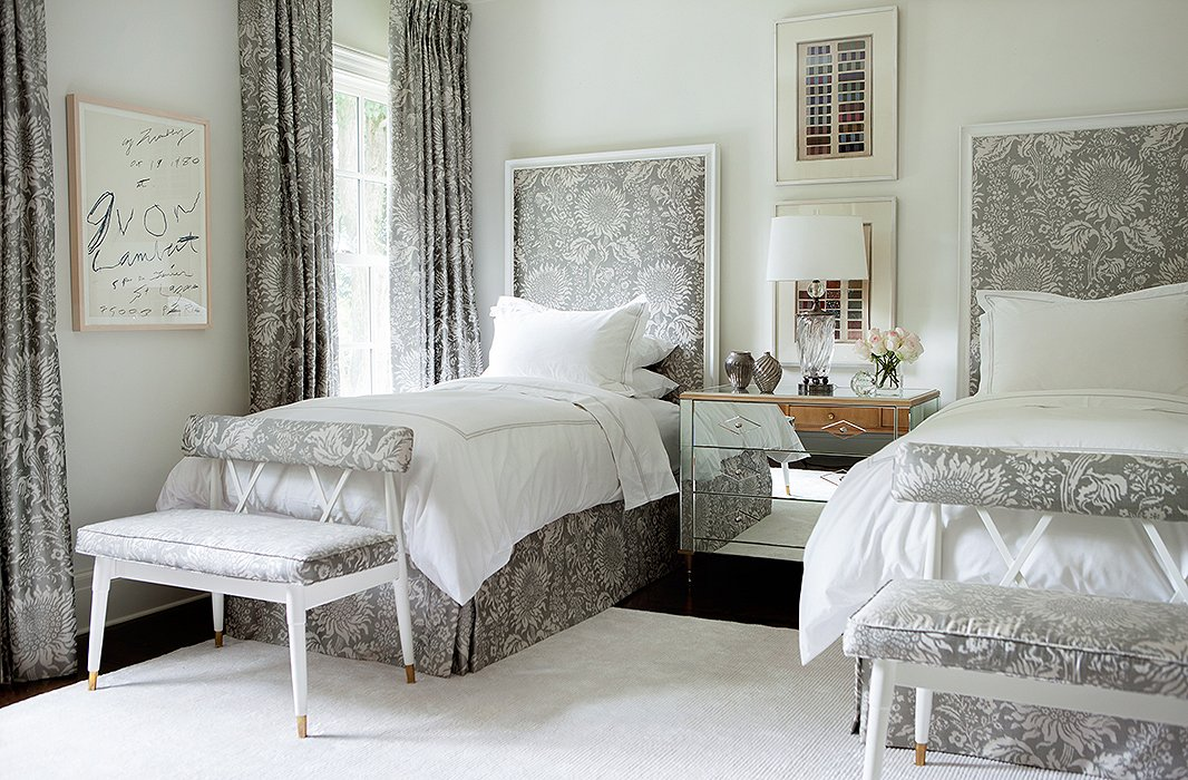 Suzanne kasler 39 s atlanta home the glam pad for B q design your own bedroom