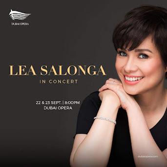 Lea Salonga in Dubai
