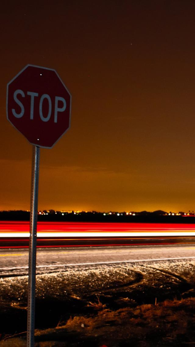 Iphone 5 Wallpapers Hd Stop Signs Iphone 5 Wallpaper