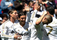 Real Madrid Jadi Juara La Liga 2012