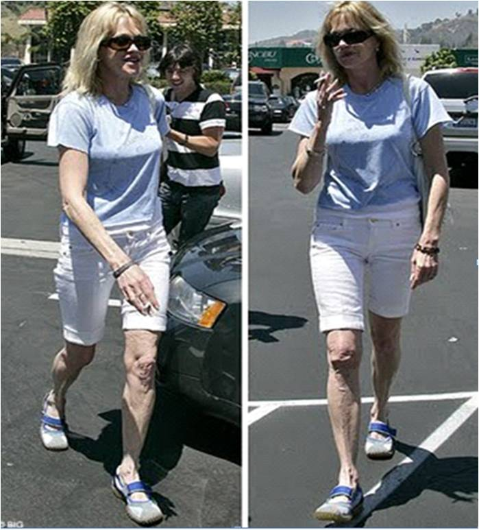 old and wrinkled melanie griffith