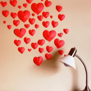 Cara Membuat Bunga Cinta 3 Dimensi untuk Hiasan Dinding