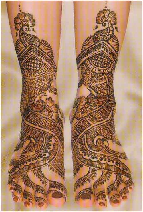 Mehndi Feet Facebook : Designs of mehndi for eid on foot simple dresses
