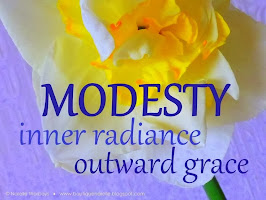 Shortest Definition of Modesty