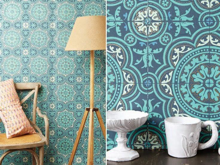 Blog de decora o perfeita ordem papel de parede - Saint maclou tapisserie ...