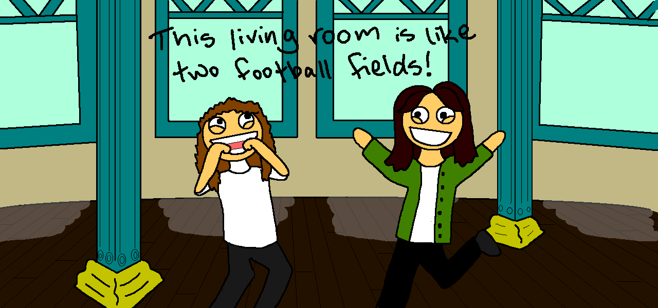 Living Room Football Game