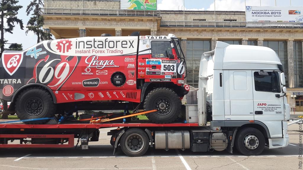 Tatra ждет разгрузки