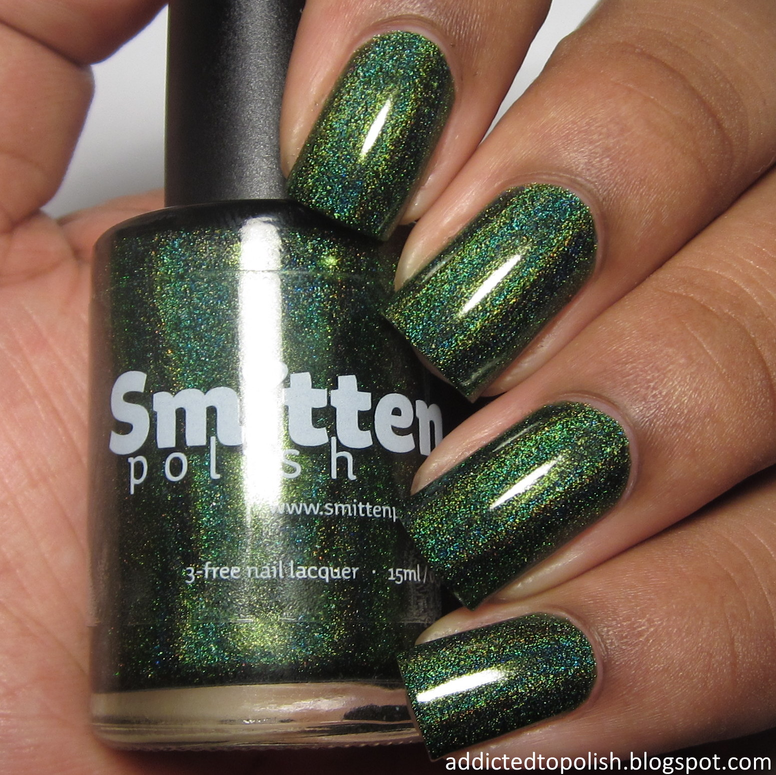 smitten polish between the baubles