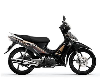 Honda Future X FI màu đen tháng 6-2011