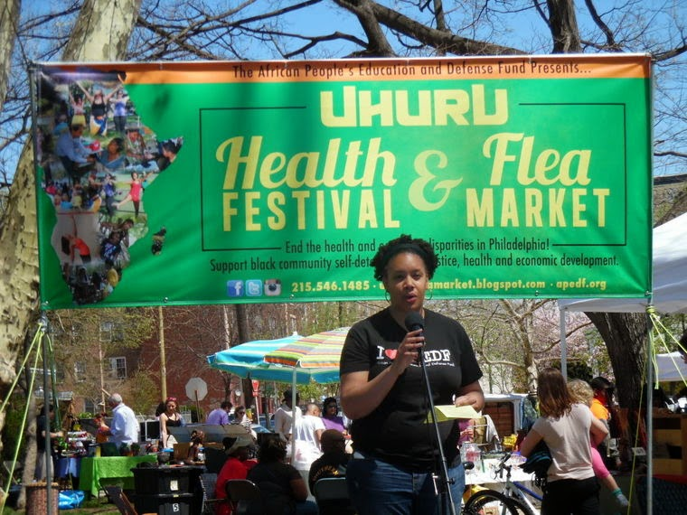 GRAND SUCCESS: Uhuru Health Festival & Flea Market in our Philadelphia APEDF chapter!