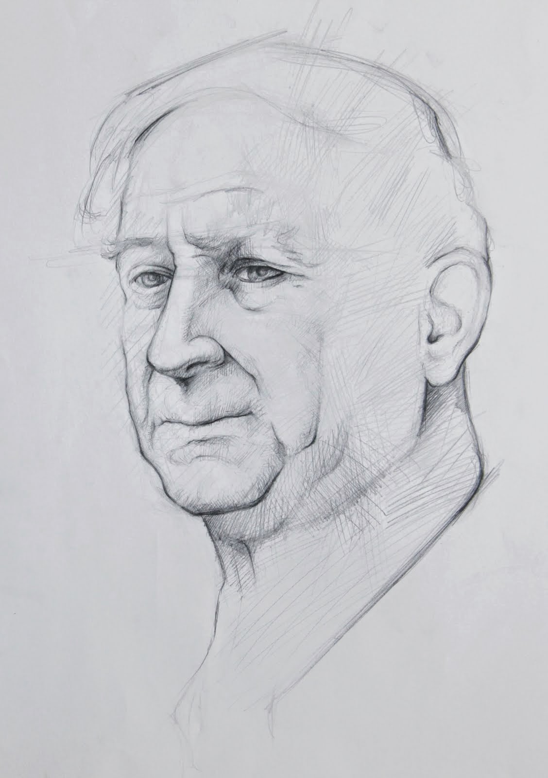 resim kursu portre çalışması