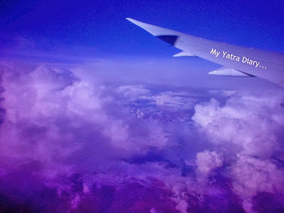 Air India - Views from the flight window