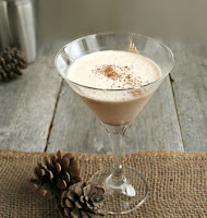 Rum Nog Cocktail