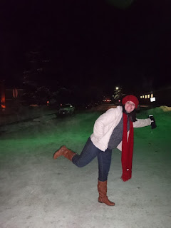 brincando na neve - hotel saint moritz lodge - aspen, colorado