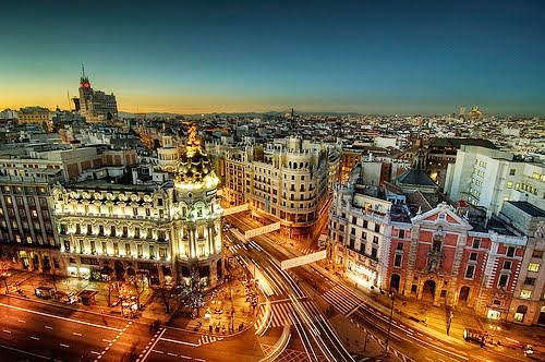 ❤ I love Madrid, my city!.