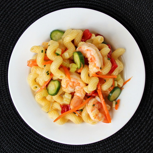 Cookistry: Whole Foods Friday: Shrimp Pasta Salad