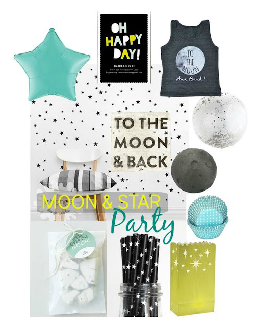 Kid's Moon & Star Party Inspiration and Ideas