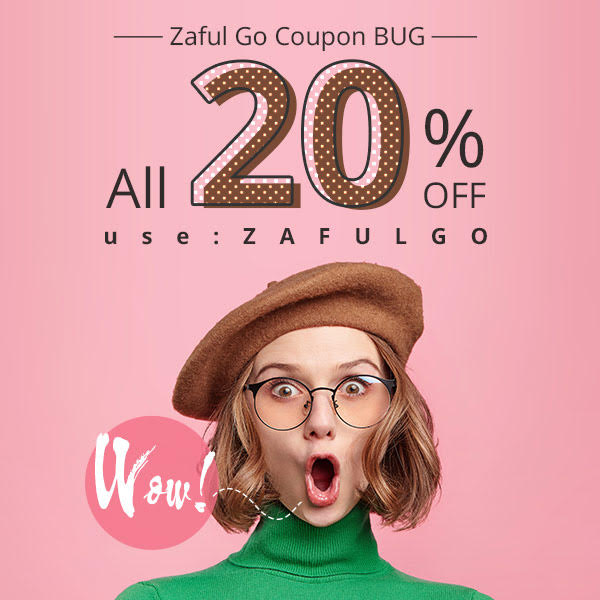 Wow! Zaful Coupon Bug!!! All 20% OFF