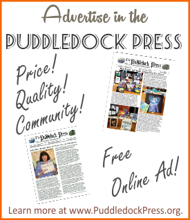 Advertise in the Puddledock!