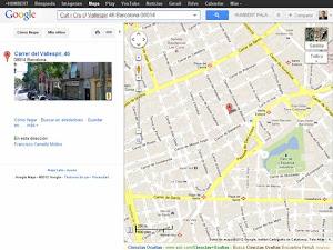 Localització de la botiga