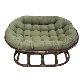 Microfiber Papasan Chair