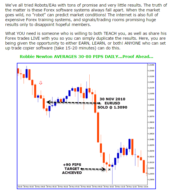 The best forex signals
