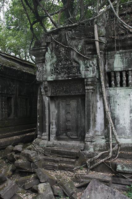 Ruinas del templo de Beng Mealea.
