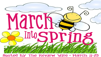 March Into Spring Button