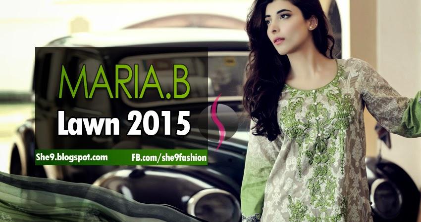 Maria-B Lawn 2015 [Full Magazine]