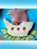 Сандвич за деца корабче