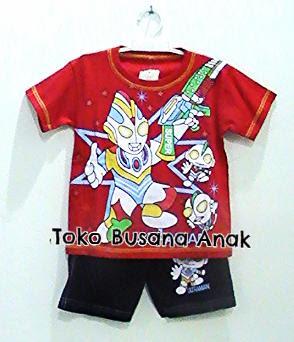 baju, kartun, anak, ultraman