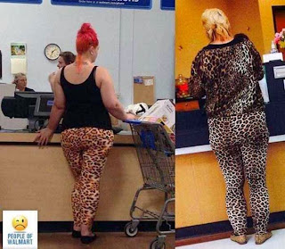 Different Dressing Walmart Shoppers