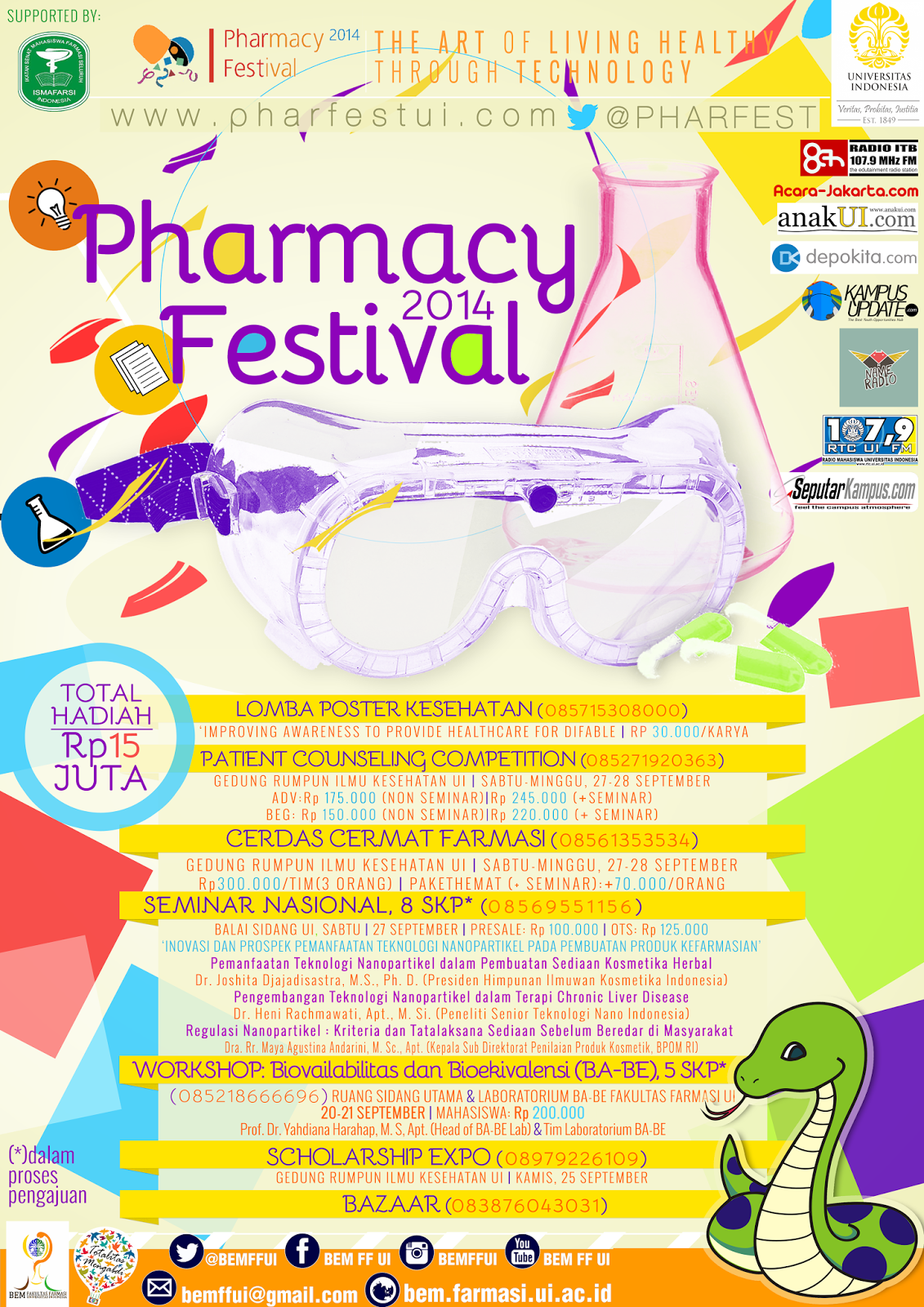 Pharmacy Festival Universitas Indonesia 2014