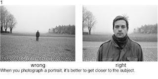 Совет 1. Если вы снимаете портрет, постарайтесь делать снимок достаточно близко.