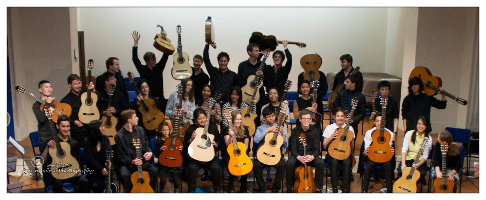 YMP Guitar Ensemble 2014