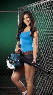hot girl makita blower